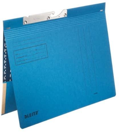 Leitz Pendelhefter Combi with Bag-Manila Cardboard-Blue
