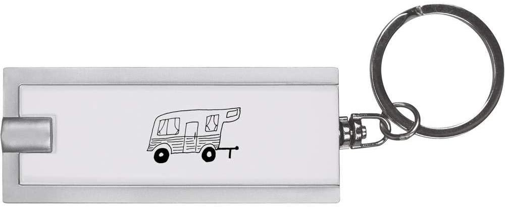 Azeeda 'Retro Caravan' Keyring LED Torch (KT00011477)
