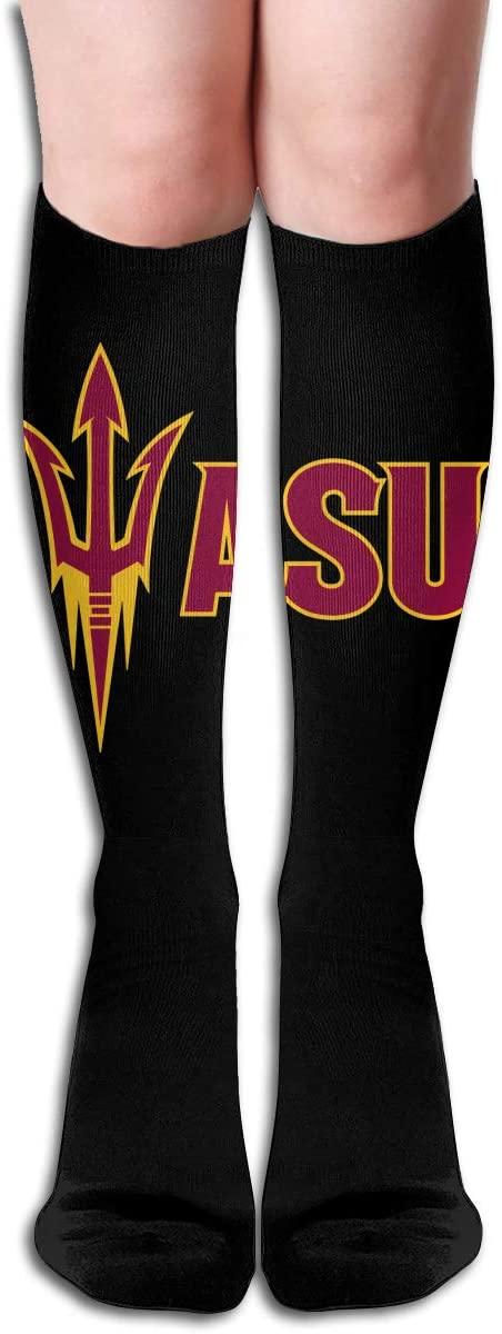 ASU Men's/Women's Comfortable Casual Funny Long Knee High Socks Compression Socks Winter Warm Soccer Socks