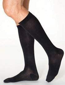 SIGVARIS Men's Essential Opaque 860 Closed Toe Calf-High Socks 20-30mmHg