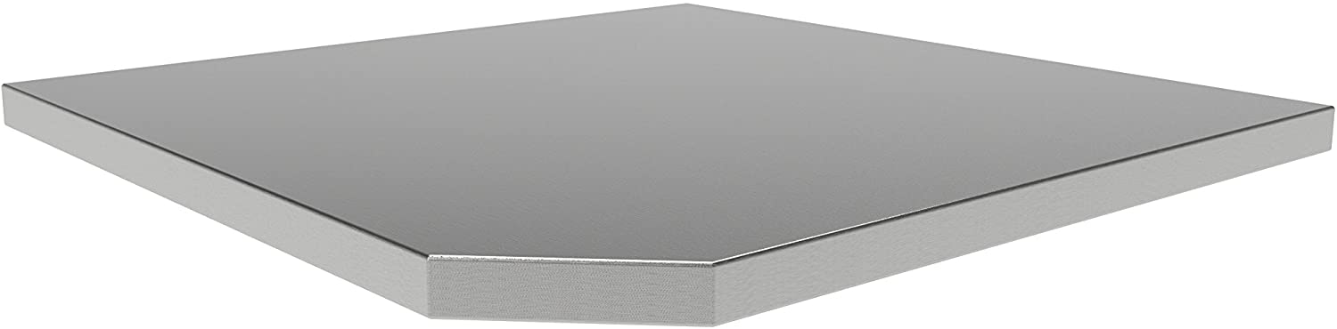 NewAge Products 36173 Bold Series Corner Stainless Steel Worktop