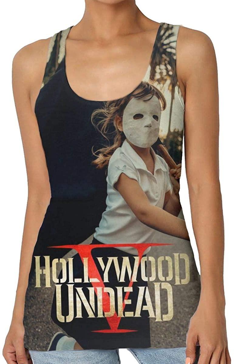 StephaSport Hollywood Undead Woman's Senior Round Neck Polyester Pattern Vest