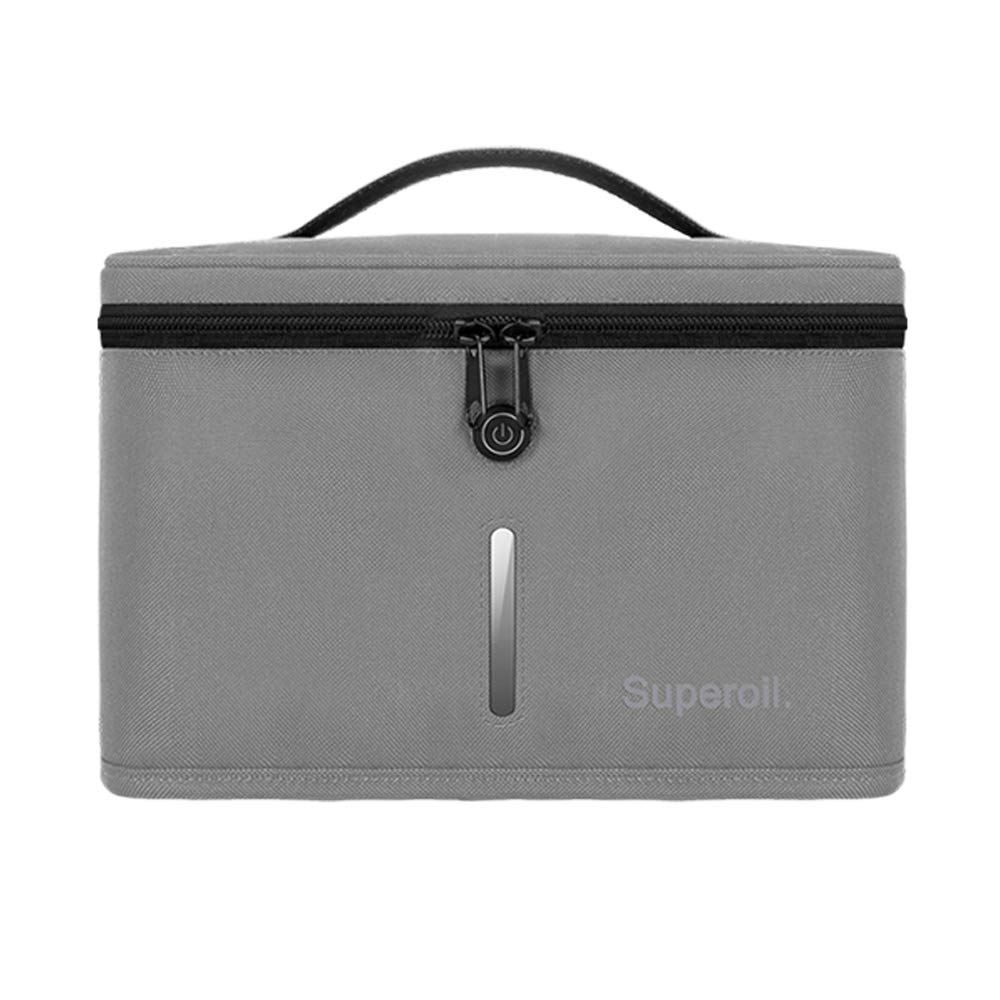 UV-C Bag Clean Sterilizer Box for Baby Bottle/Toys/Clothes/Toothbrush/Beauty Tools (GREY)