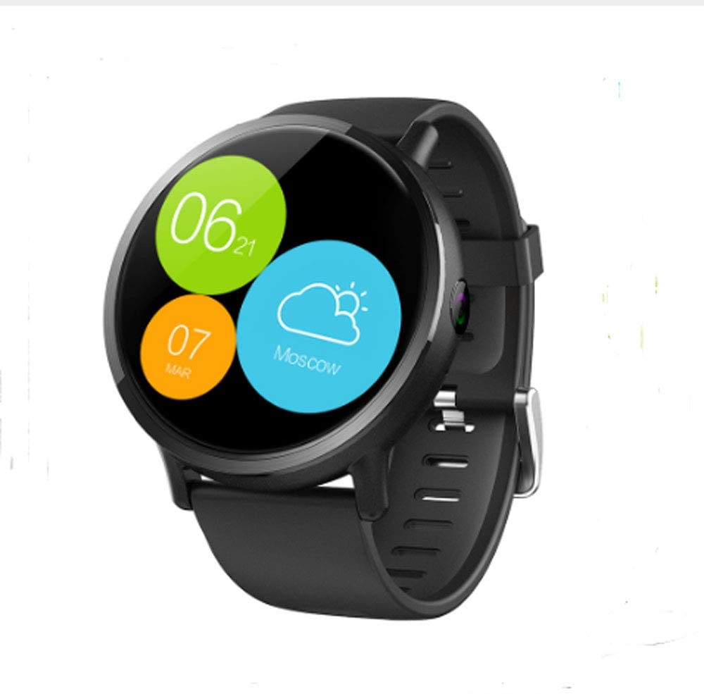 SUQIAOQIAO LEMX 4G Smart Watch 2.03 Inch High-Definition Large Screen 8 Million Pixels 1+16G Android7.1 Multi-Function