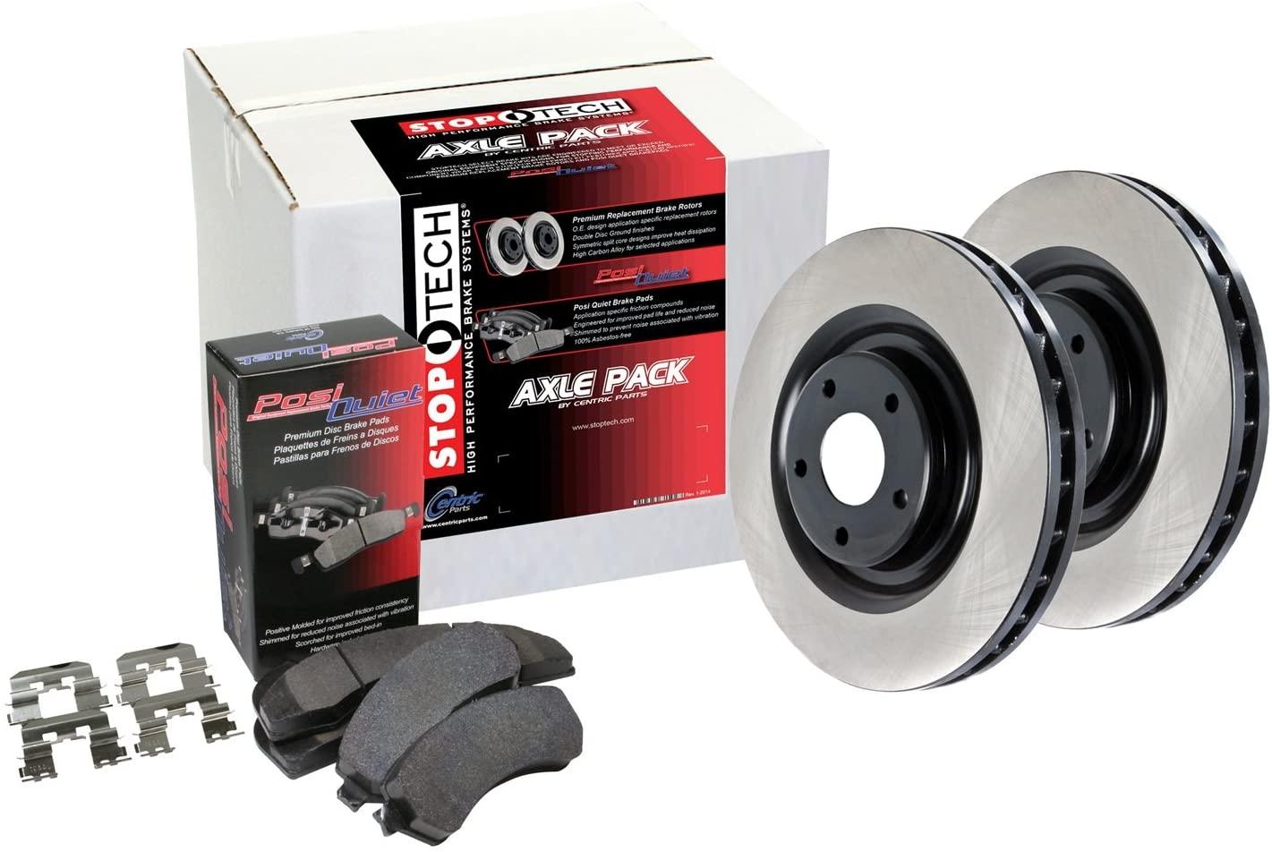 StopTech 909.47504 Rear Brake Kit (Preferred Pack)