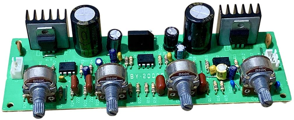 NE4558 OP-AMP HiFi Amplifier Volume Tone EQ