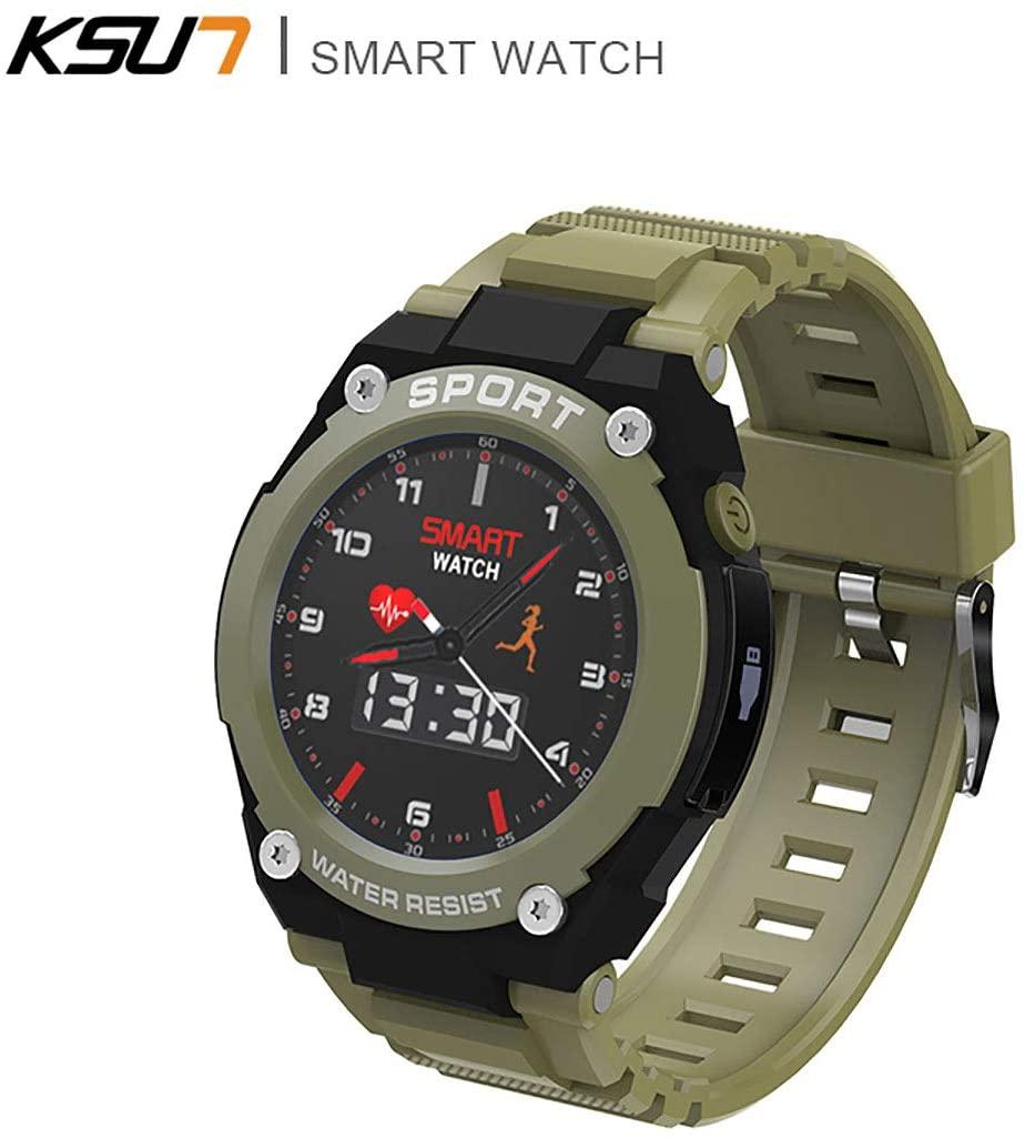 QIMIN QMR902 2G Smart Watch Phone GPS Bluetooth 4.0 IP67 Waterproof Calling Multiple Sport Modes Heart Rate Sleep Monitor Call Remind