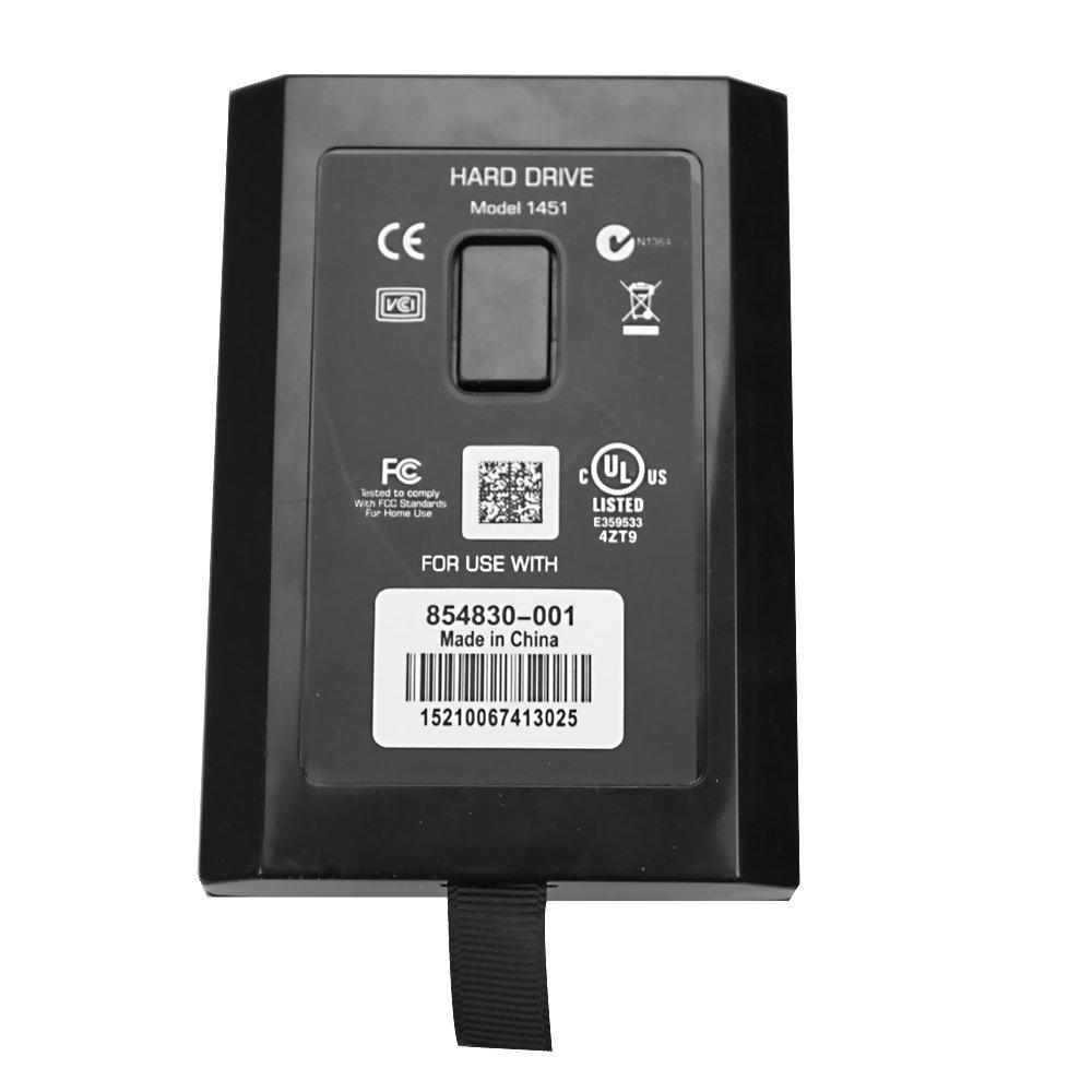 Etree 60GB Hard Disk Drive for Xbox 360 Slim Black
