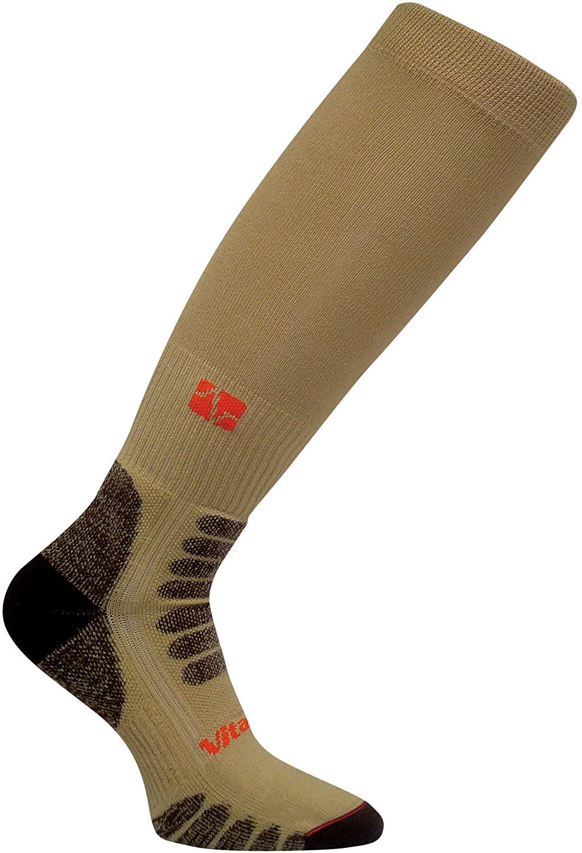 Vitalsox Sportsman OTC Medium Weight Compression Socks, Beige, Large - HF1111
