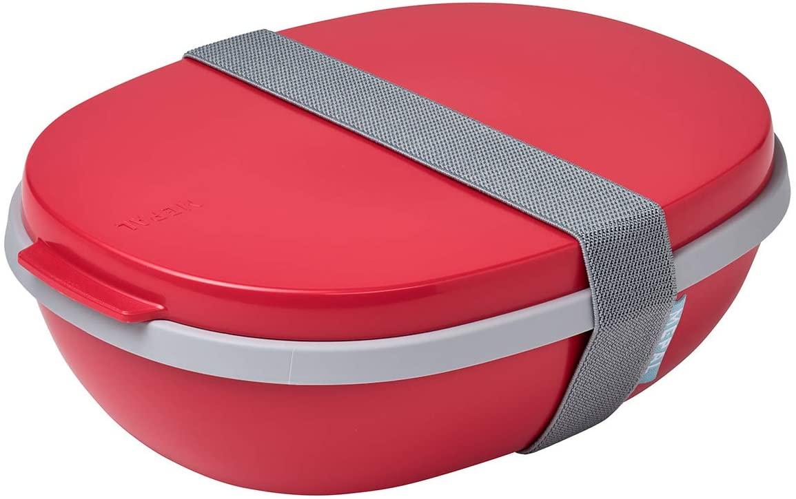 Mepal Take a Break Lunch Box ABS Silver One Size