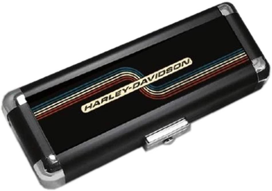 Harley-Davidson H-D Light-Weight Hard Dart Carrying Case – Retro Black 61935
