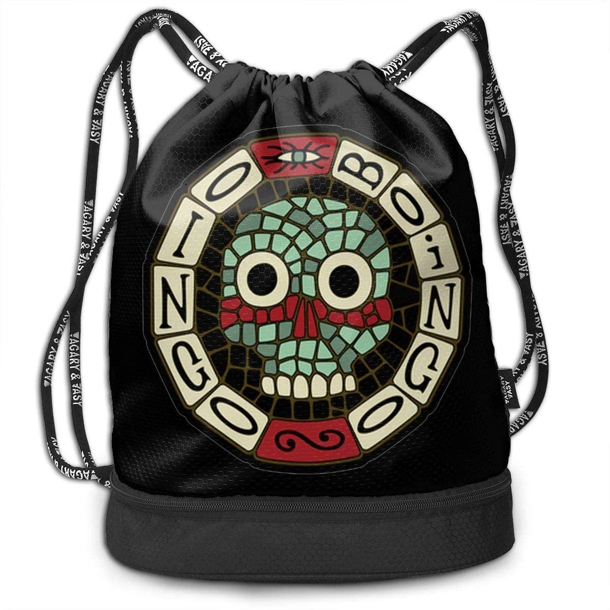 Oingo Boingo Drawstring Bag Gym Lightweight Bundle Backpack For Men Women Kids School Gym Travel