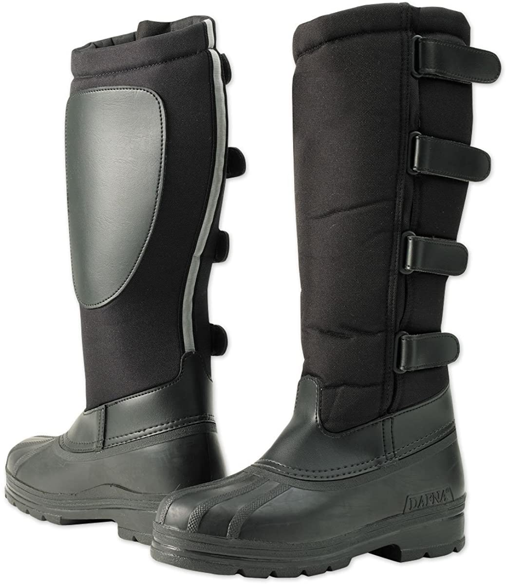 Ovation Ladies Blizzard Winter Riding Boots (7) Black