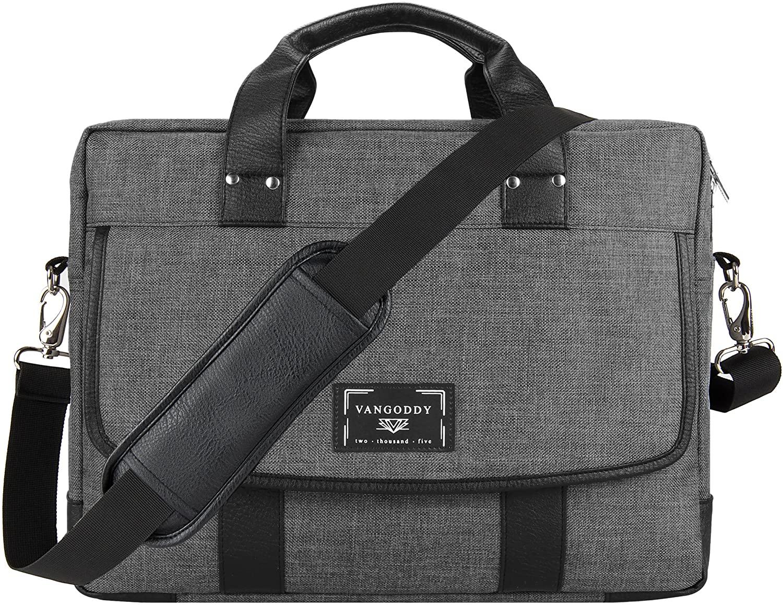 Laptop Messenger Briefcase Bag 13 inch for Dell Inspiron, Latitude, XPS, Chromebook, Alienware, Vostro 13.3