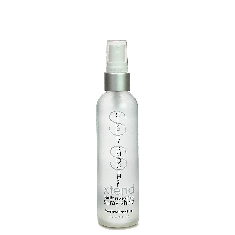 Simply Smooth Xtend Keratin Replenishing Spray Shine, 4 Ounce