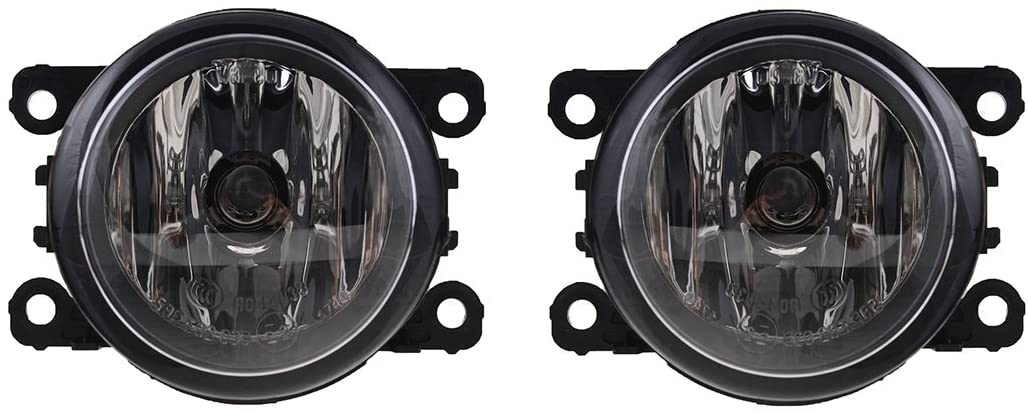 Rareelectrical NEW PAIR OF FOG LIGHTS COMPATIBLE WITH FORD RANGER ELECTRIC 1998-2002 XLT 1998-2005 FO2592217 088358