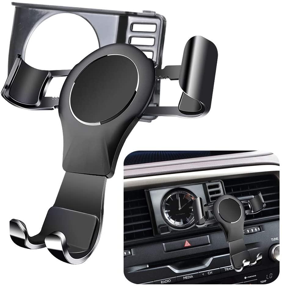 LUNQIN Car Phone Holder for 2016-2020 Lexus RX 350 450h and 2018-2020 Lexus RX 350L 450hL Auto Accessories Navigation Bracket Interior Decoration Mobile Cell Phone Mount