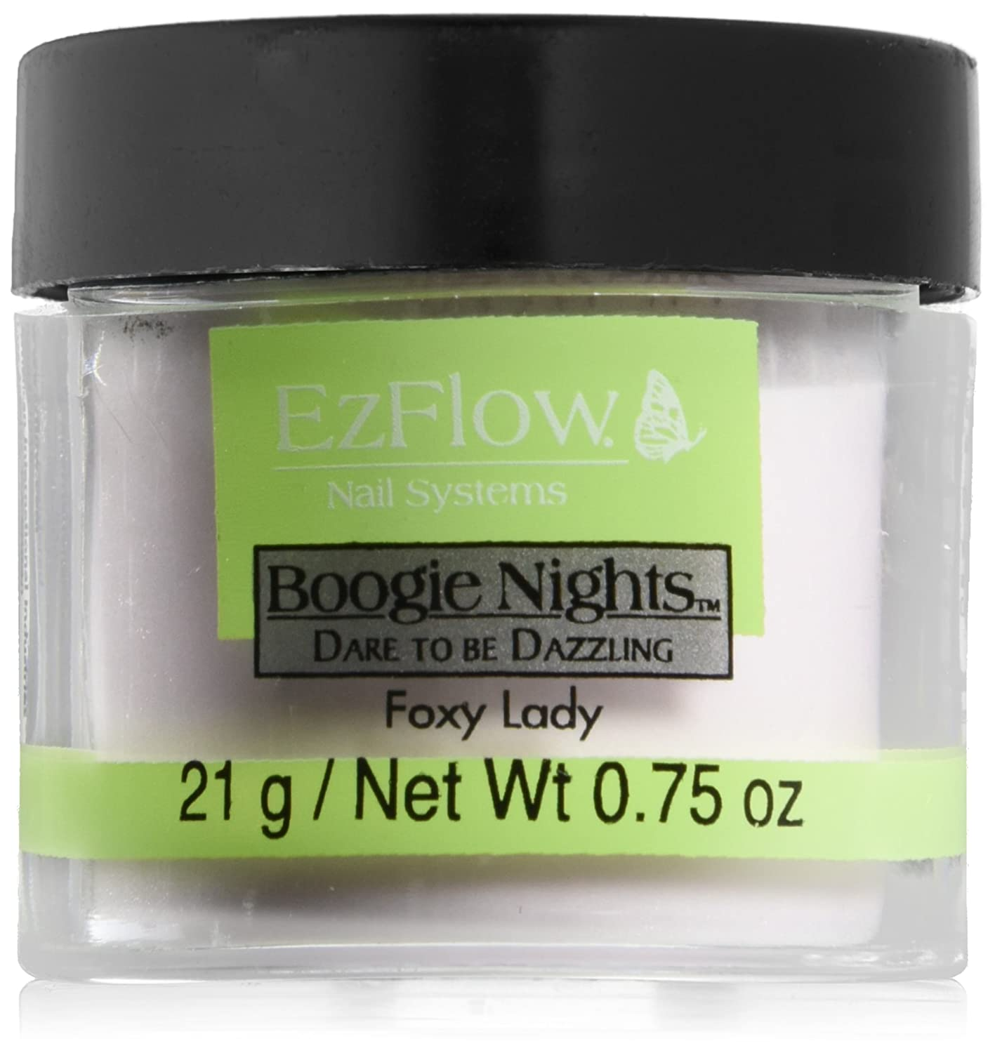 EZ Flow Dare To Be Dazzling Glitter False Nails, Foxy Lady, 0.75 Ounce