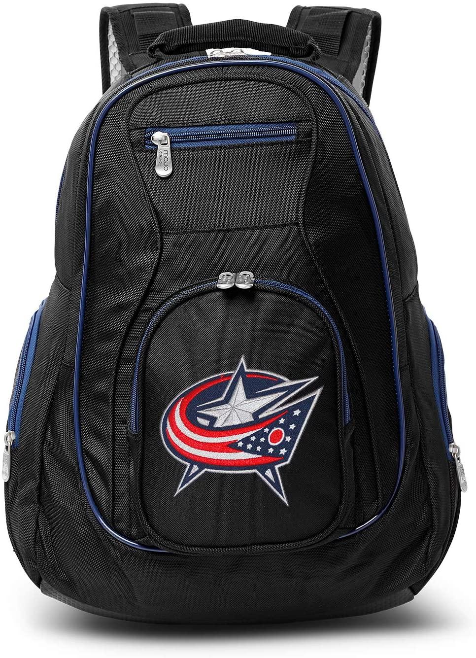 Denco NHL Colored Trim Premium Laptop Backpack, 19-inches