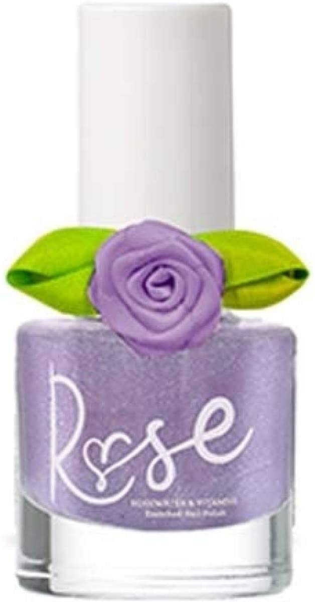 Rose Lit Non-Toxic Water-Based Nail Polish Especially Designed for Teens 7 ml / 0.2 fl oz Each - Infused with Rosewater, Biotin, and Vitamin C