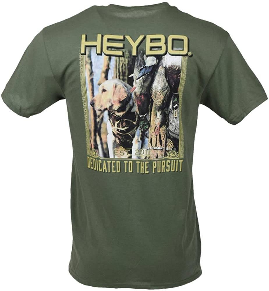 Heybo Doc The Lab S/S Moss Green T-Shirt