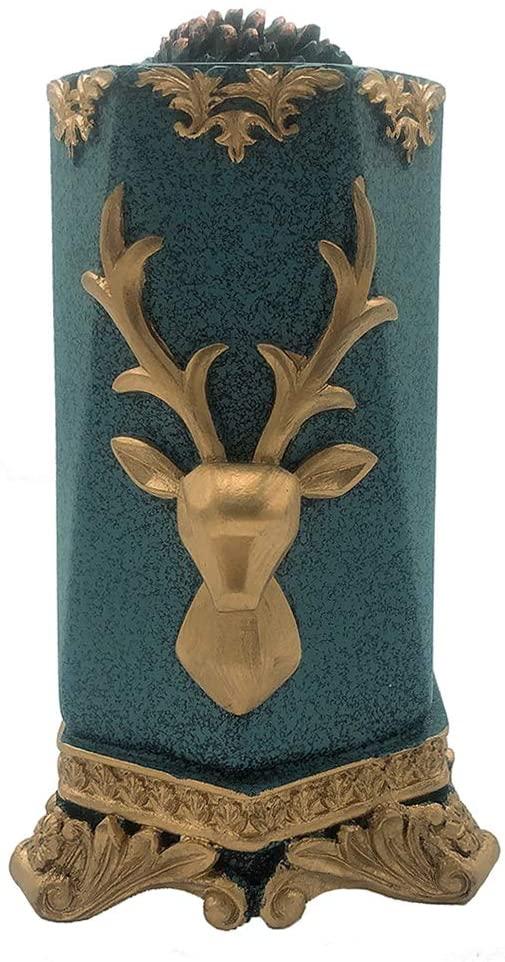LINWIN Toothpick Dispenser Deer Head Toothpick Holder Modern Style Toothpick Dispenser
