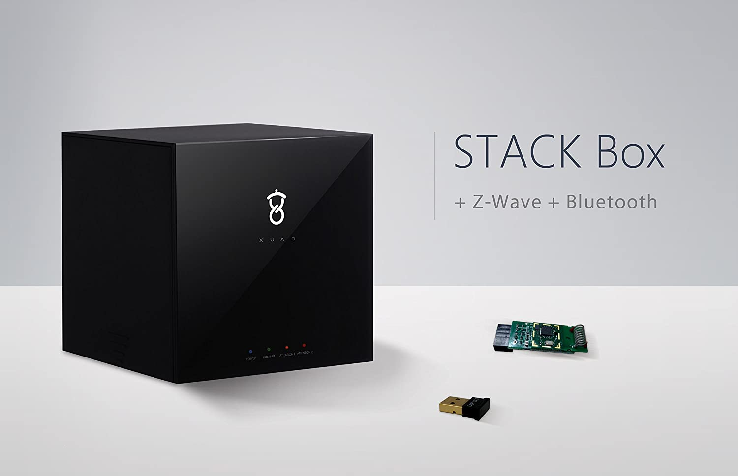 Xuan Stack Box IoT Hub (Gateway) - A Smart Home Automation Controller with Z-Wave and BLE