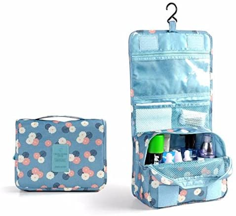 melupa Hanging Travel Toiletry Bag Cosmetic Make Up Organizer for Women and Girls Waterproof