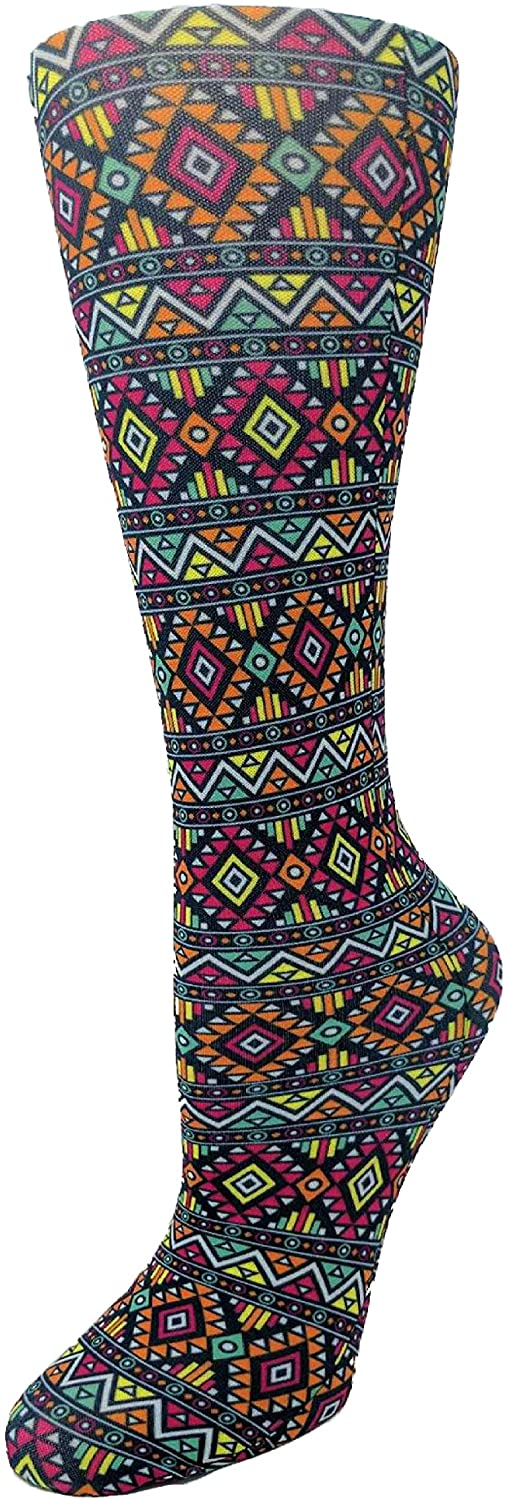 Cutieful Therapeutic Graduated 8-15 mmHg Compression Socks - Azteca