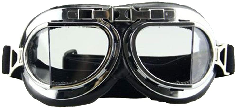 WWII Retro Goggles,Motorcycle Cruiser Scooter MTB Snowboard Windproof glasses