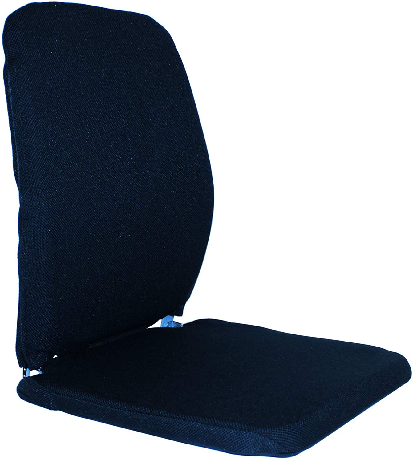 Q QUALITY BRAND COMPANY McCarty's Q-BRSNCCF-BLU Memory Foam Sacro-Ease Ergonomic Seat Support 16x12 back/14 seatx19 in. Blue Color