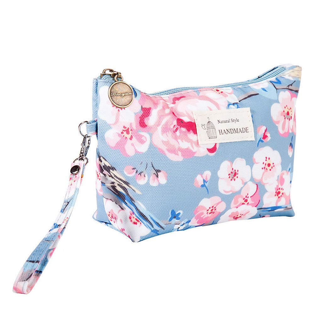 Travel Makeup Bag Waterproof Cosmetic Bag for Women, Makeup Organizer Purse Large Capacity Toiletry Pouch Storage Makeup Tools Foundation (G)