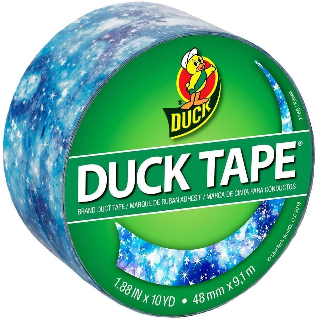 ShurTech Starry Galaxy Duck Tape 1.88X10yd