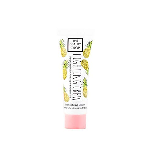 The Beauty Crop   Lightning Crew Highlighting Cream   Foundation Makeup Face Highlighter   Shimmer & Glow Enhancer   Natural Radiance   10 ml