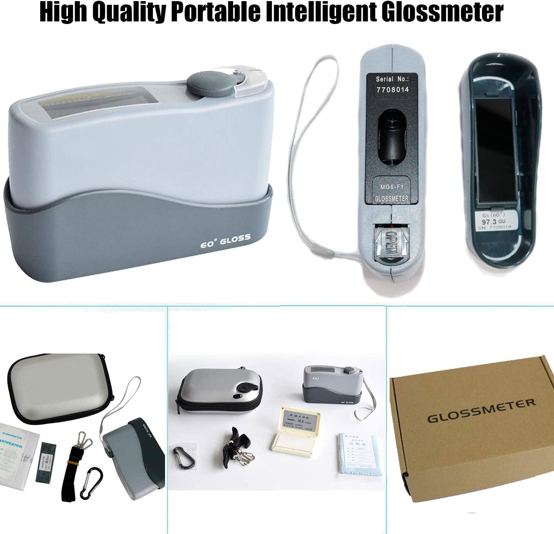 Digital Glossmeter 60 Degree Gloss Meter Granite Woodware Surface MG6-F1 0-199Gu for Stone Paint