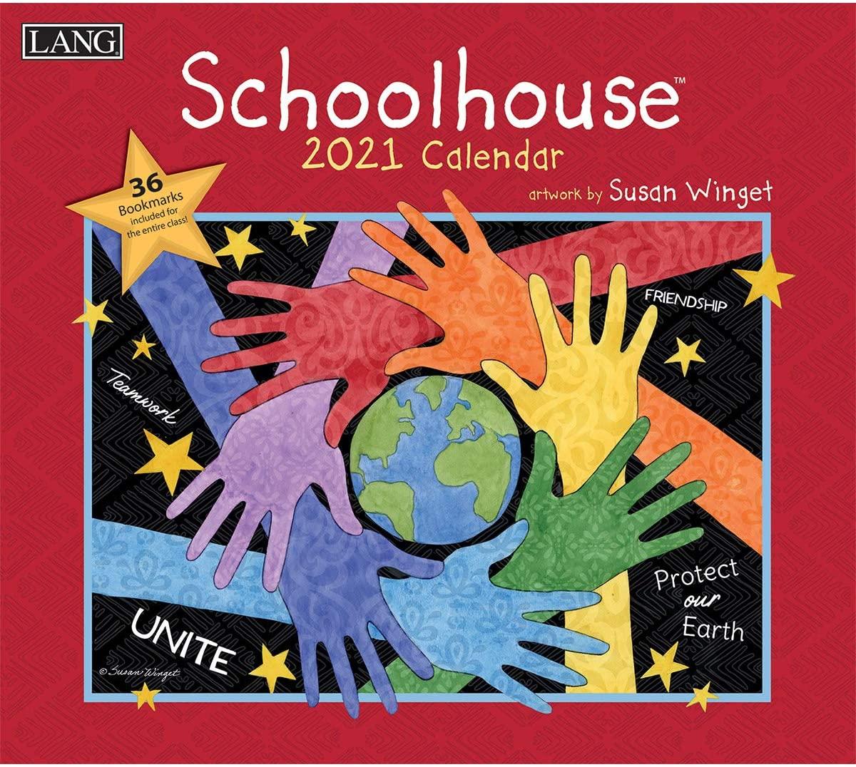 LANG Schoolhouse 2021 Wall Calendar (21991001940)