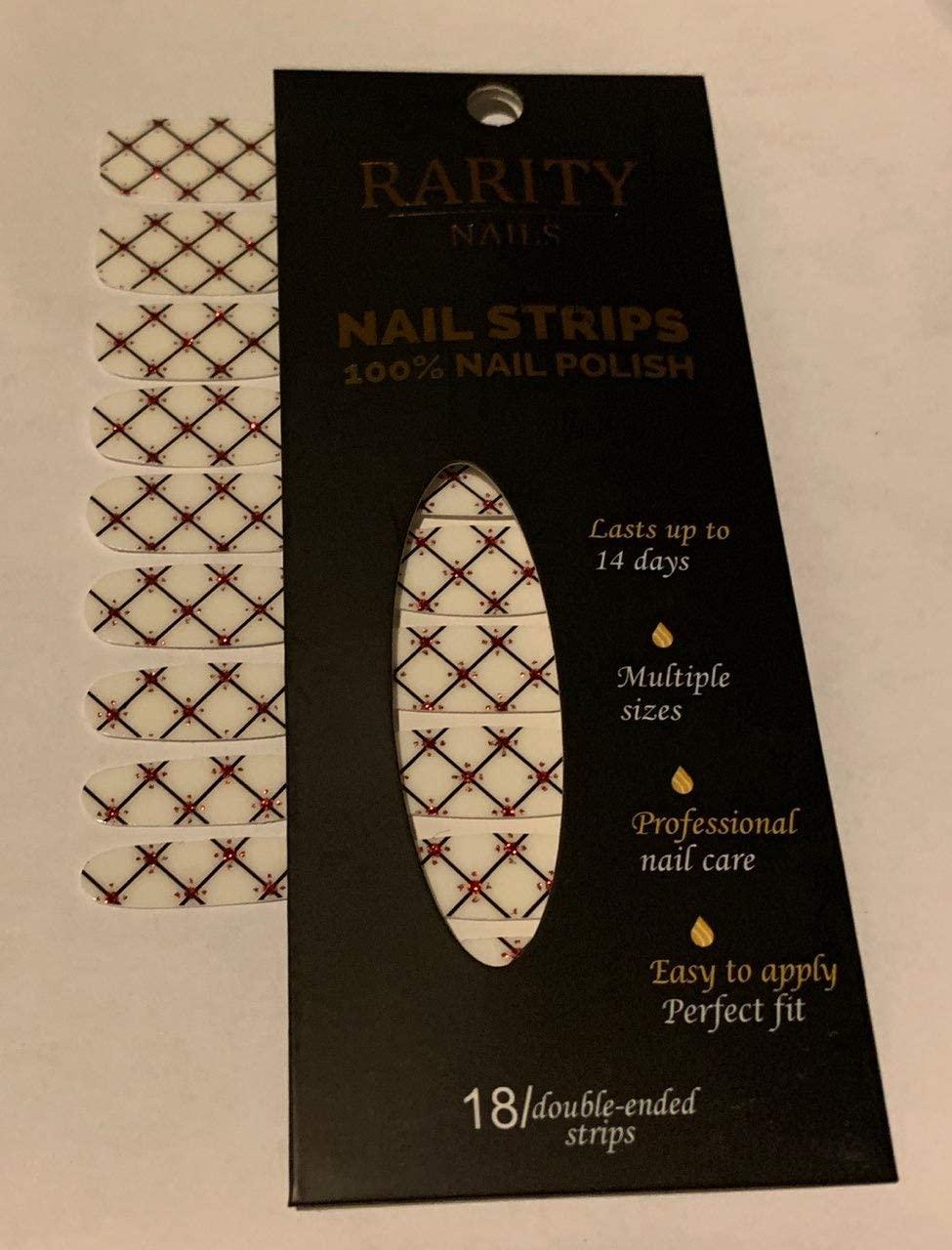 Rarity Nail Strips (Winter Wonderland)