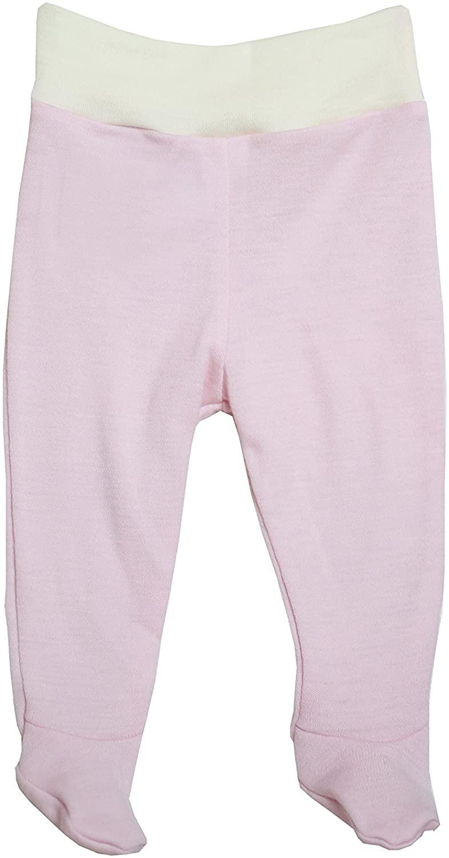 Footed Baby Pants Trousers Newborn - 3yr Boy Girl Unisex Kids 100% Merino Wool
