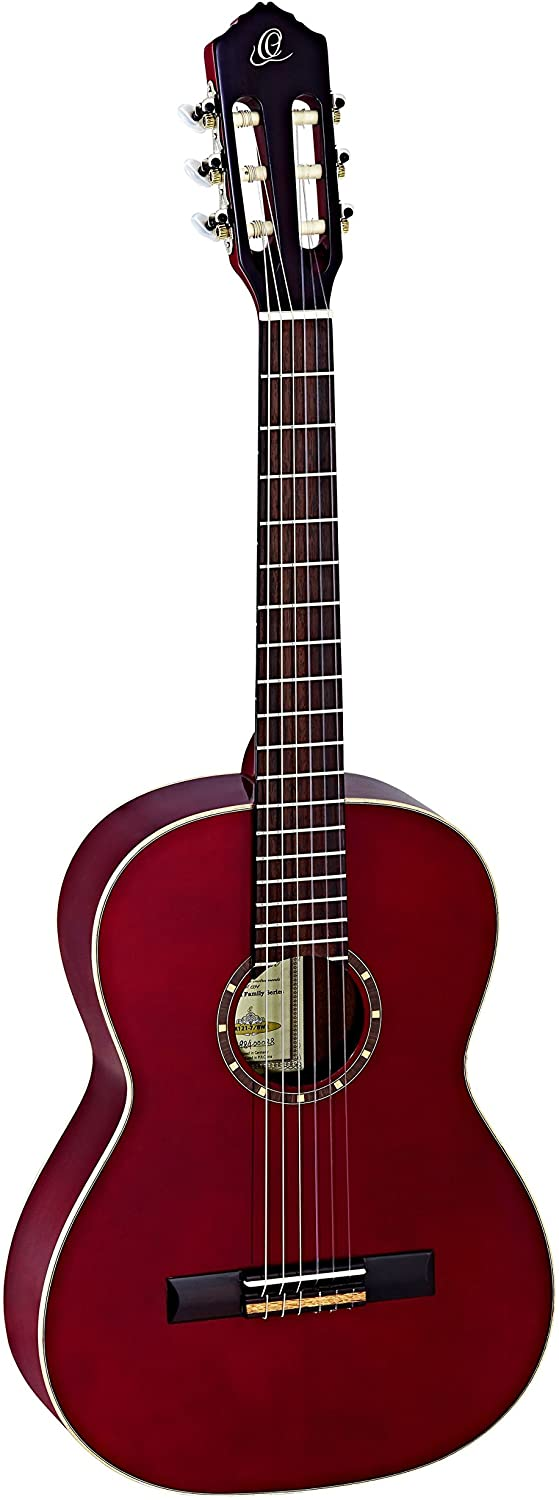 Ortega Guitars Family Series 6 String Classical Guitar, Right (R121-7/8WR)
