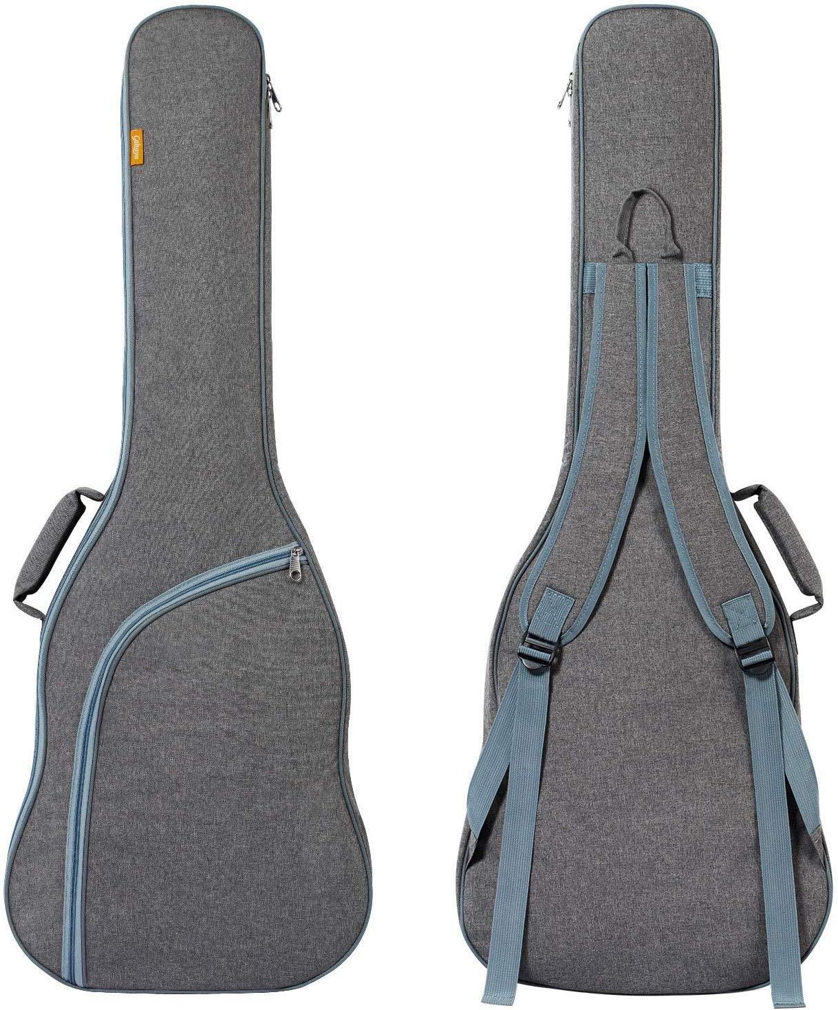 CAHAYA Electric Guitar Bag Padded Electric Guitar Gig Bag Case 0.35in Padding Dual Adjustable Shoulder Strap Electric Guitar Case
