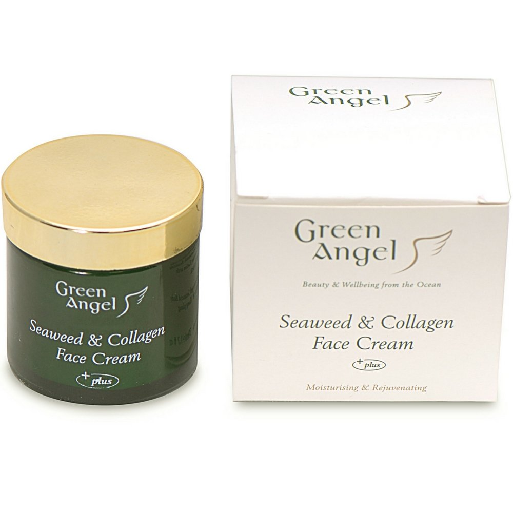 Green Angel Seaweed & Collagen Face Cream (50ml) by Green Angel
