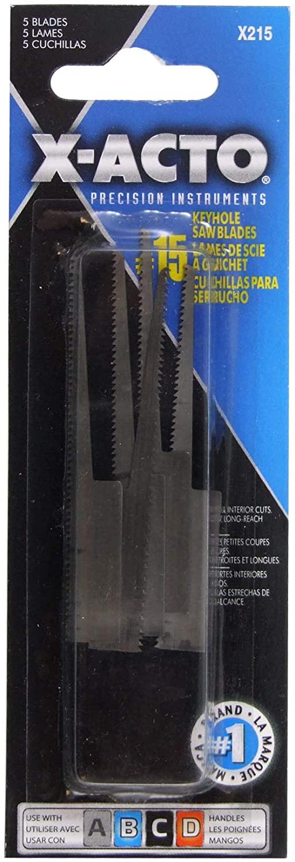 ELMERS Xacto X215 Blades #15 Packg 5 (X215)