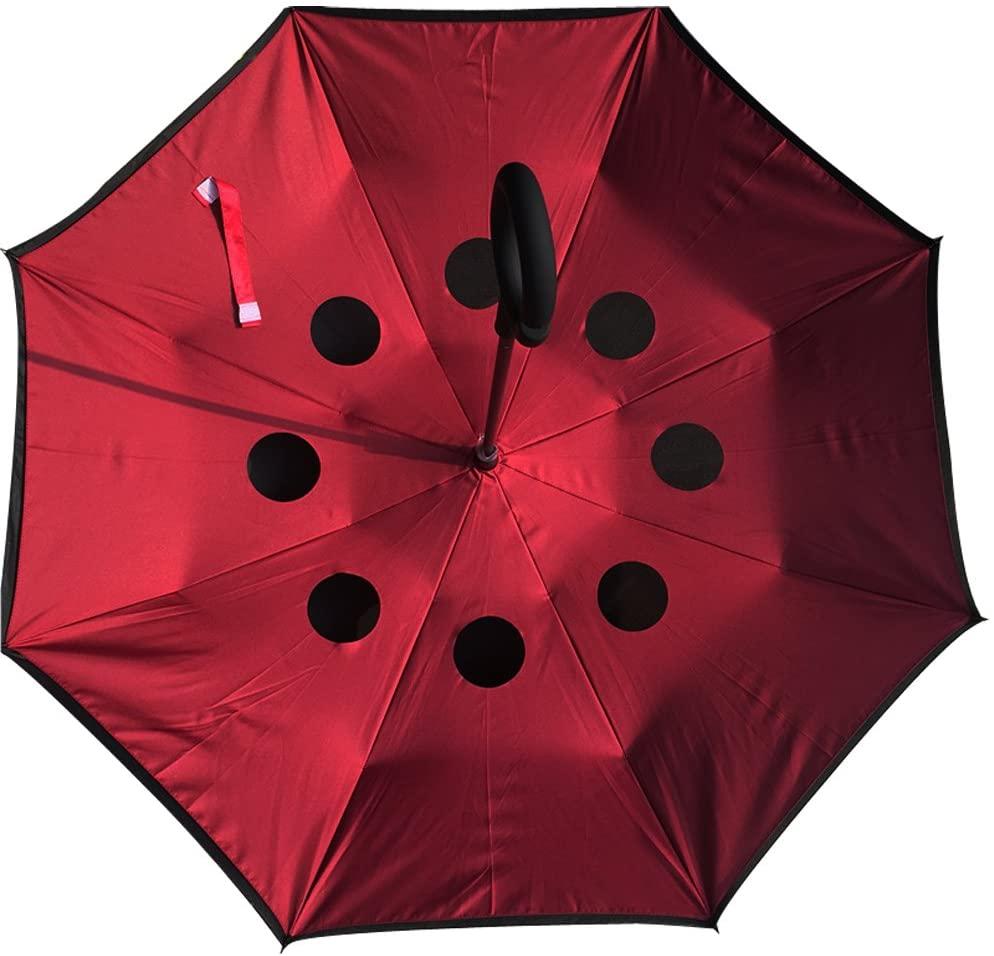 Merocker Umbrella manual open C-Shap Handle Car Umbrella Protect You While Rainy Days