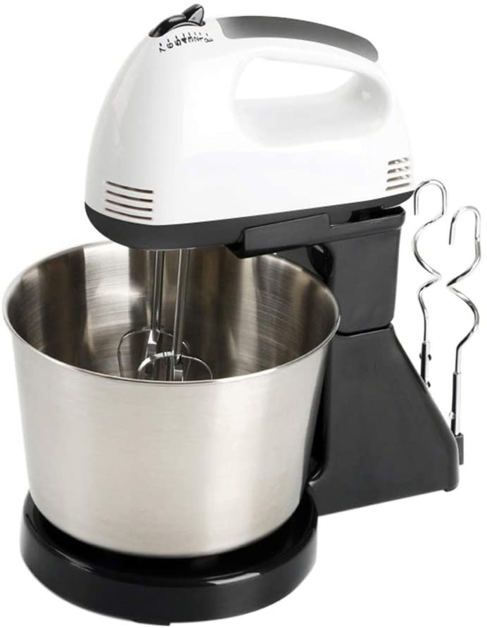 OERTUFU Professional Electric Mixer 7 Speed Lightweight Handheld Whisk for Mix, Blend, Whip and Knead Food Mixer,for Kitchen Baking Cake Egg Cream Stand Mixer