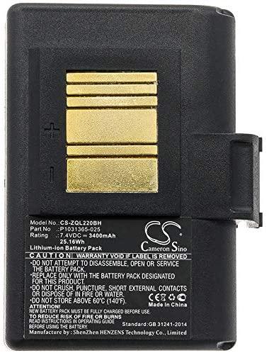 Replacement Battery for Zebra QLN220,QLn220HC,QLN320