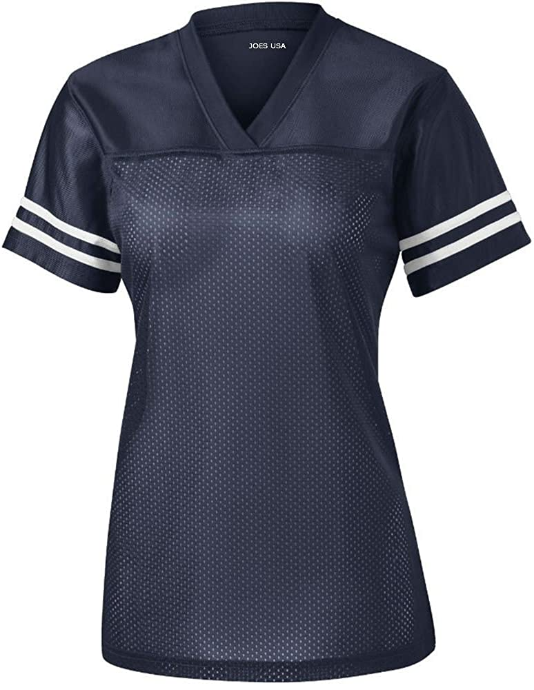 Ladies Replica Football Jerseys in Adult Sizes: XS-4XL