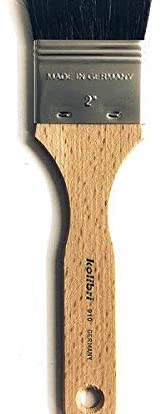 Flat Brush Synthetic Vel.2Flat Handle, Kolibri, Flat Brushes, Art Supplies