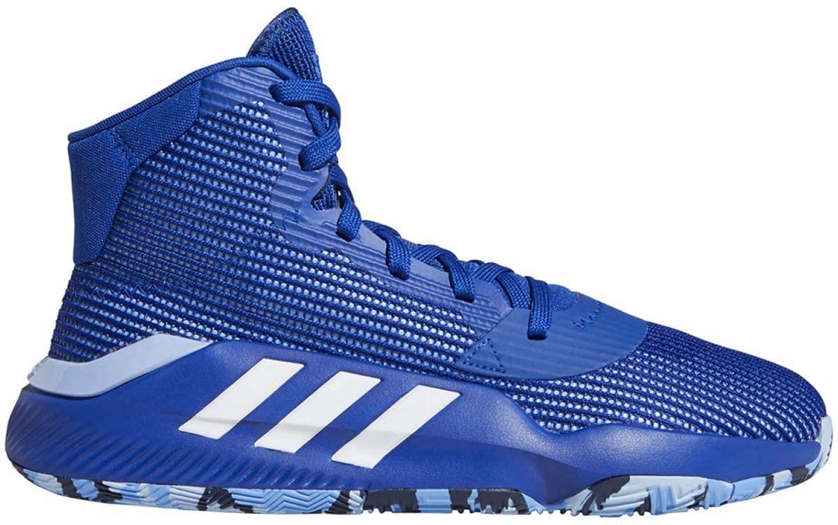 adidas Pro Bounce 2019 Shoe - Men's Basketball Collegiate Royal/White/Blue