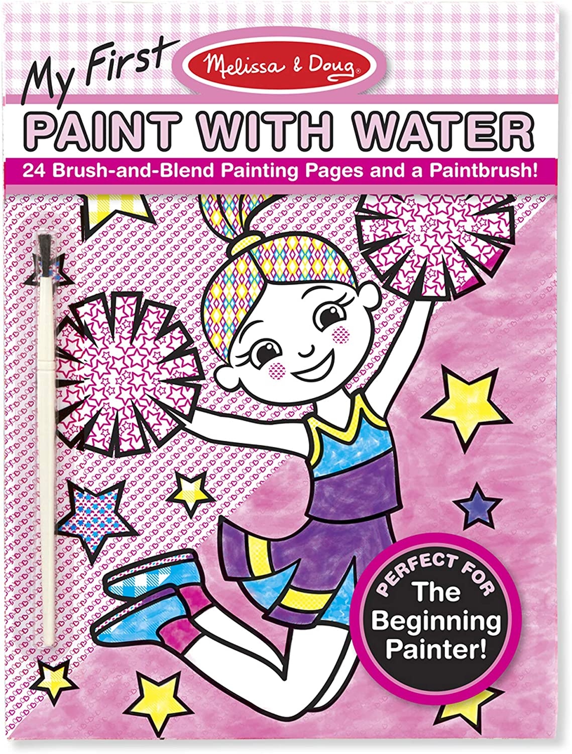 Melissa & Doug My First Paint with Water - Pink