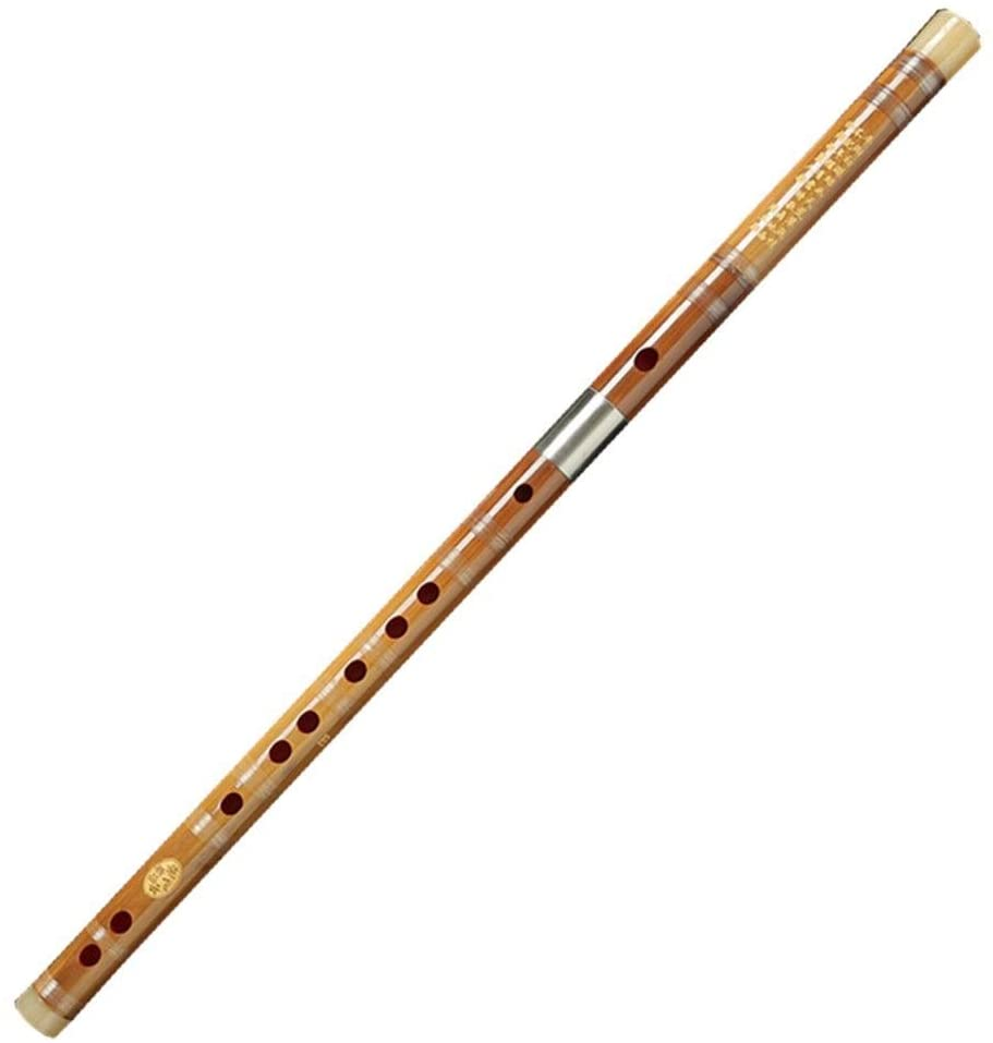 Guanso Chen Qing Flute The Same Style of Beginner Refined Professional Performance Bamboo Flute Introduction to Classical Costume Drama (Color : Tone, Size : G)
